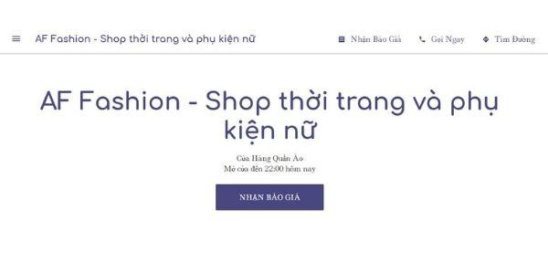 Địa chỉ bán Quần tây baggy nữ TPHCM – AF FASHION