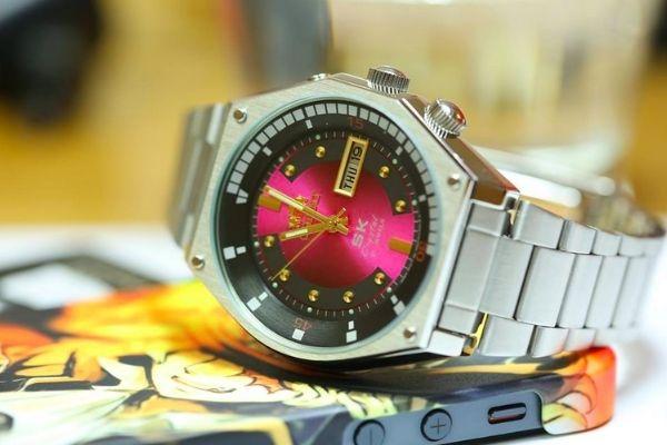 Đồng hồ cổ điển Orient SK Mặt lửa