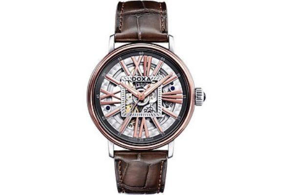 Đồng hồ vàng 18k Doxa D154RWH