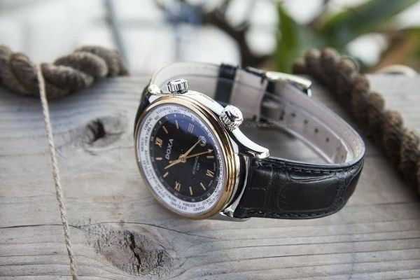 Đồng hồ vàng 18k Doxa D181TBU