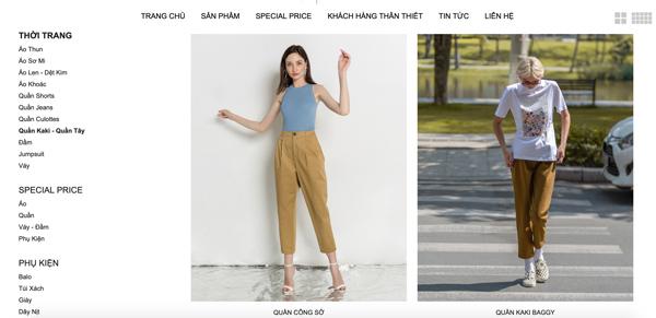 Quần kaki nữ đẹp TPHCM J-P Fashion
