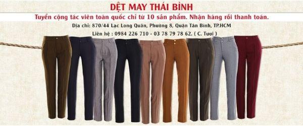 Thái Bình Shop Quần kaki nữ đẹp TPHCM