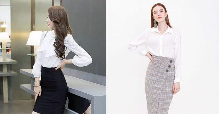 Top 6 shop bán chân váy công sở TPHCM