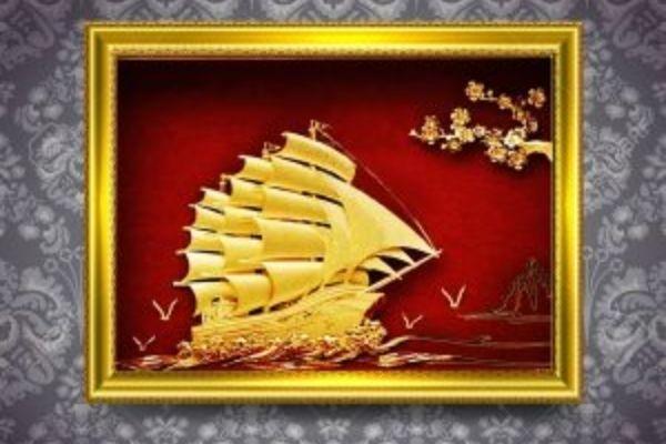 Tranh mạ vàng