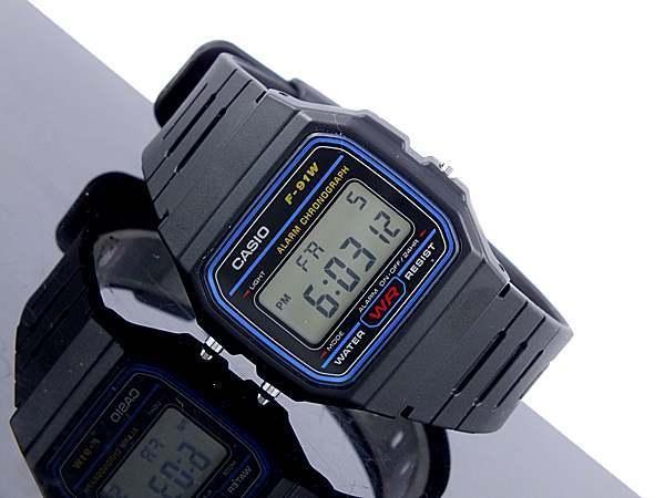 Đồng hồ điện tử casio F91W