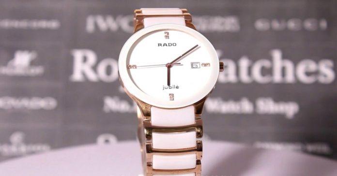Đồng hồ rado nữ dây đá - Trợ thủ đắc lực dành cho các chị em