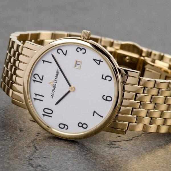 Đồng hồ siêu mỏng Jacques Lemans JL-1-1848H