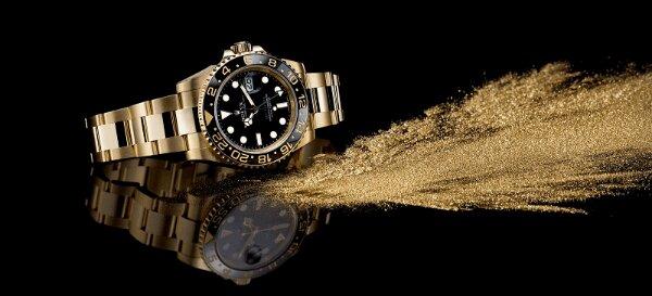 xu hướng đồng hồ đeo tay bằng vàng