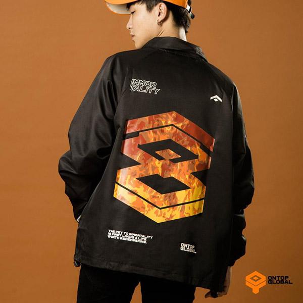 Jacket Logo Fire