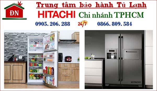 Điện lạnh Đình Nhật - Trung tâm bảo hành tủ lạnh Hitachi hàng đầu tại TPHCM