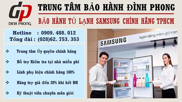 Điện lạnh Đình Nhật - Trung tâm bảo hành tủ lạnh Samsung uy tín