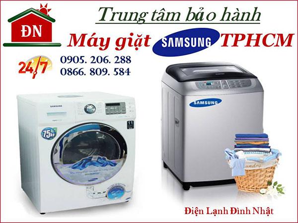 Điện lạnh Đình Nhật - Trung tâm bảo hành máy giặt Samsung hàng đầu TPHCM