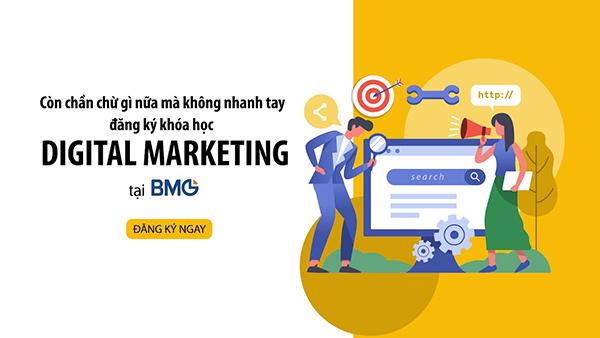 Khoá học Digital Marketing tại DMG