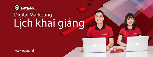 Khoá học Digital Marketing tại EQVN