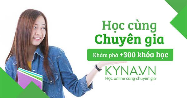 Khoá học Digital Marketing tại trung tâm đào tạo Kyna