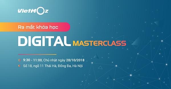 Khoá học Digital Marketing tại trung tâm đào tạo Vietmoz