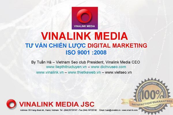 Khoá học Digital Marketing tại trung tâm Vinalink