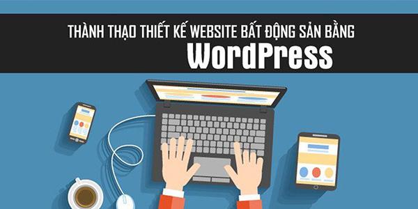 Thành thạo thiết kế website bất động sản bằng WordPress trên Unica